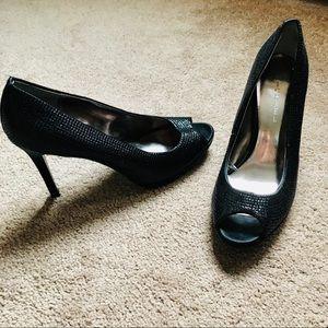Michael Kors heels black swaroski-like size9